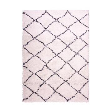 tapis moderne beige casablanca decoway
