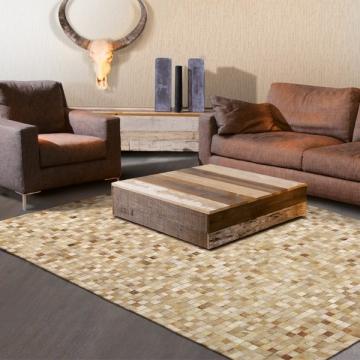 tapis en cuir pioneer 120 x 180 cm