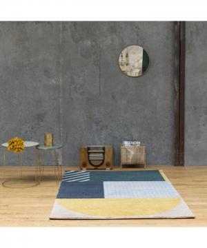 tapis art deco - art for kids