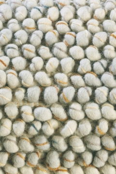 tapis cobble gris clair - brink&campaman
