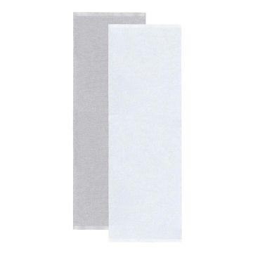 tapis de couloir blanc et gris sofie sjöström flip
