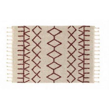 tapis lavable burgundy 120x160 - lorenaz canals