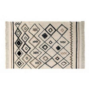 tapis lavable ethnic 120x180 - lorena canals