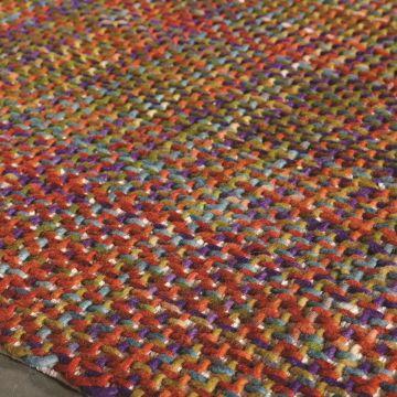 tapis moderne morrison rouge - angelo