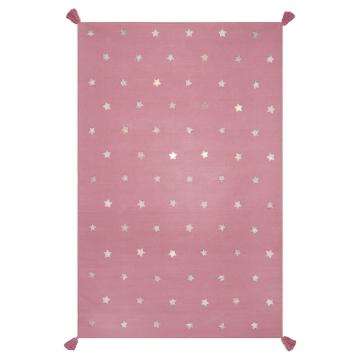 tapis rose enfant etoiles art for kids