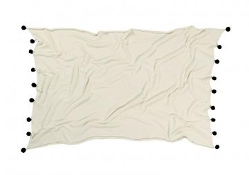 couverture bébé natural black - lorena canals