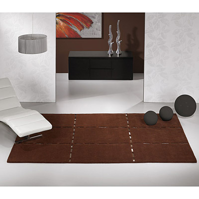 tapis christopher marron - carving