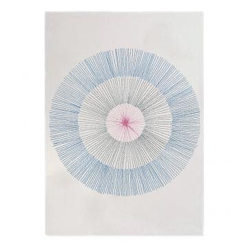 tapis pissenlit edito paris bleu