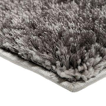 tapis spa shaggy argenté esprit