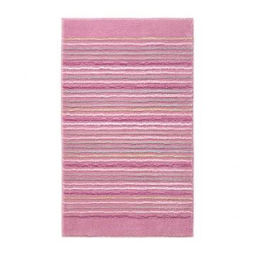 tapis de bain rose cool stripes esprit home