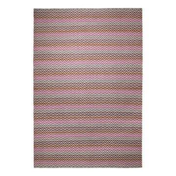 tapis moderne massoni rose