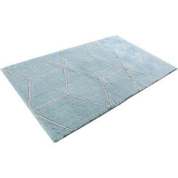 tapis de bain turquoise flair esprit