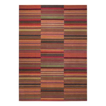 tapis moderne colorpop rouge - esprit