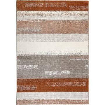 tapis dreaming orange et gris - esprit