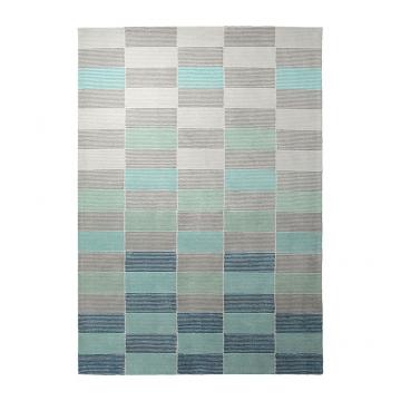 tapis moderne fida bleu esprit home