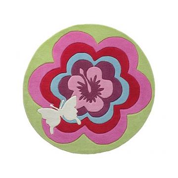 tapis enfant fantasy flower esprit home