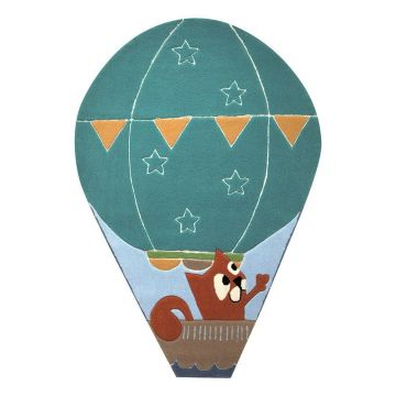 tapis enfant esprit bleu balloon
