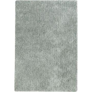 tapis shaggy vert argent relaxx esprit