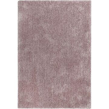 tapis shaggy esprit relaxx rose clair