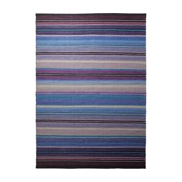 tapis nomad en laine nuit noire - esprit home