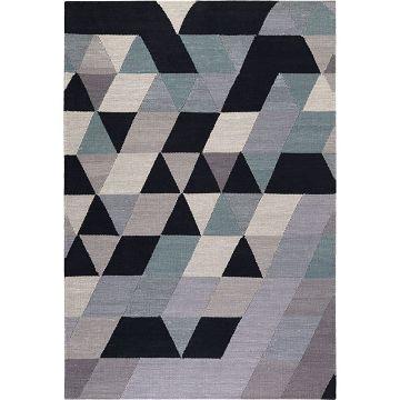 tapis kelim triango kelim multicolore esprit