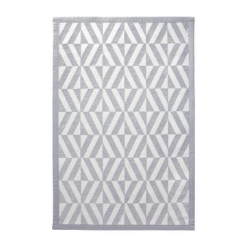 tapis de bain gris kaleidoscope esprit home