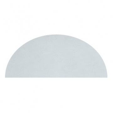 tapis enfant demi lune bleu claire 140x70 lilipinso