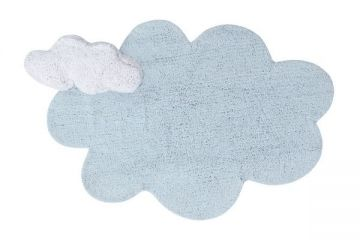 tapis enfant puffy dream blue - lorena canals