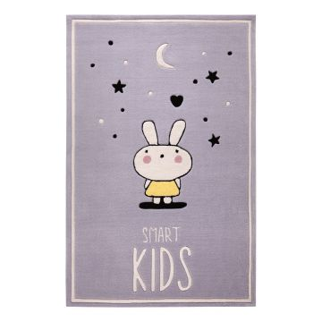 tapis enfant conny smart kids gris