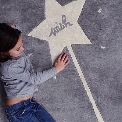 tapis gris enfant wish art for kids