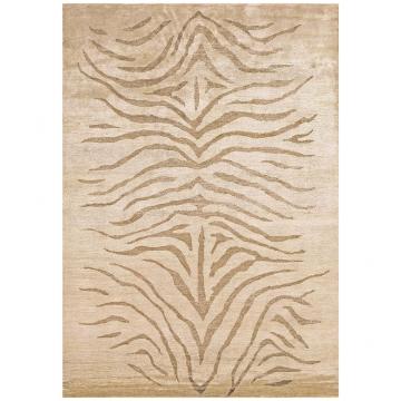 tapis angelo silky beige motif havane