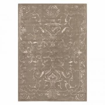 tapis angelo sydney taupe motif baroque