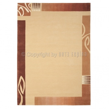 tapis easy going tufté main beige arte espina