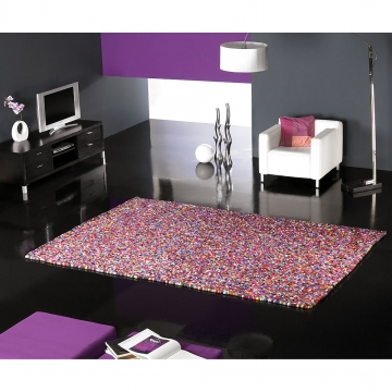 tapis balls multicolore carving