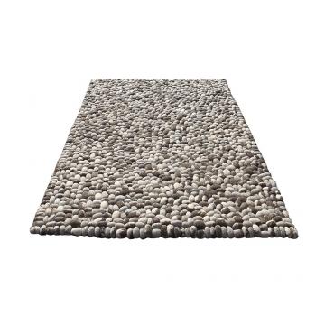 tapis stones gris - carving