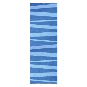 tapis de couloir are sofie sjostrom design zébré bleu