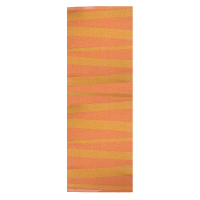 tapis de couloir orange sofie sjostrom design are zébré
