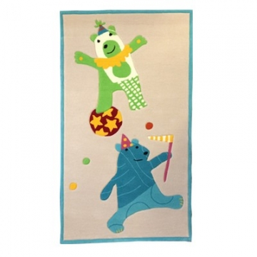 tapis enfant dancing bears esprit home