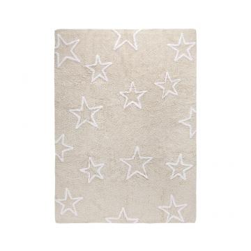 tapis enfant estrellas beige lorena canals