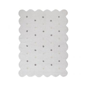 tapis enfant galleta blanc lorena canals