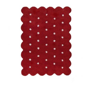 tapis enfant galleta rouge lorena canals