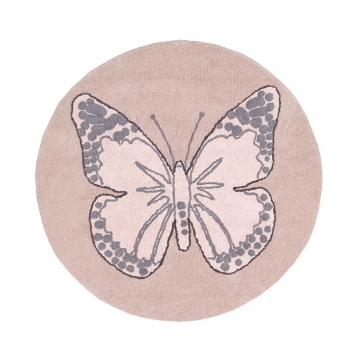 tapis enfant butterfly vintage nude lorena canals