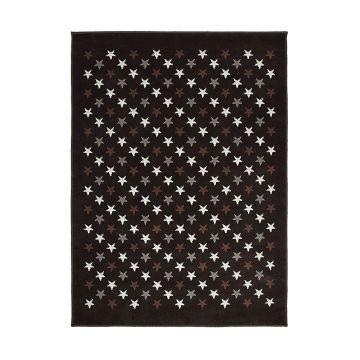 tapis enfant lorena canals estrellitas marron et gris