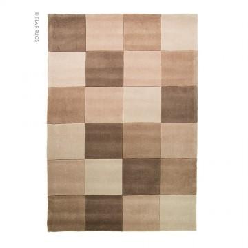 tapis flair rugs squared naturel