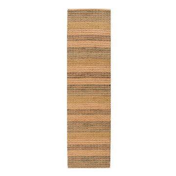 tapis de couloir bleu seagrass flair rugs