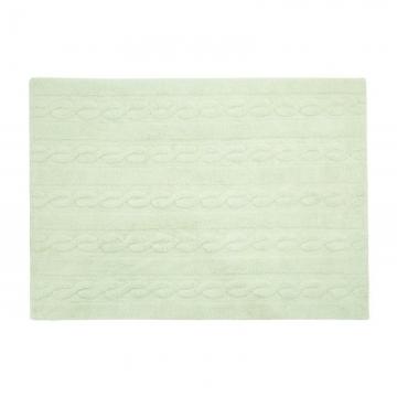 tapis braids soft mint 120x160 - lorena canals