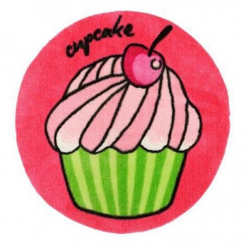tapis enfant new cake rose