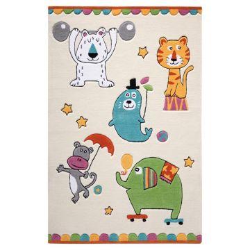 tapis beige enfant smart kids little artists
