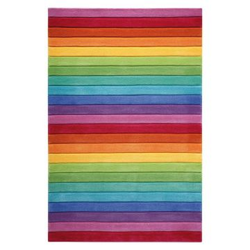 tapis smart kids enfant smart stripe multicolore