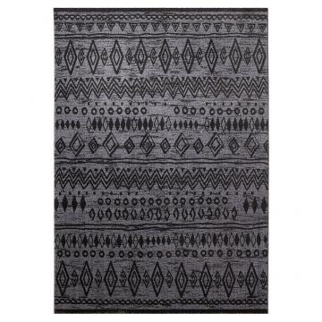 tapis contemporary kelim anthracite esprit home